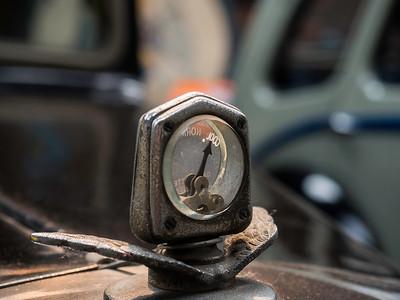 Jowett Kestrel 'Motometer' Radiator Cap Thermometer