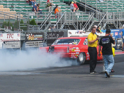July 3, 2014, at Norwalk Ohio's Summit Sports, National Dragster Racing.