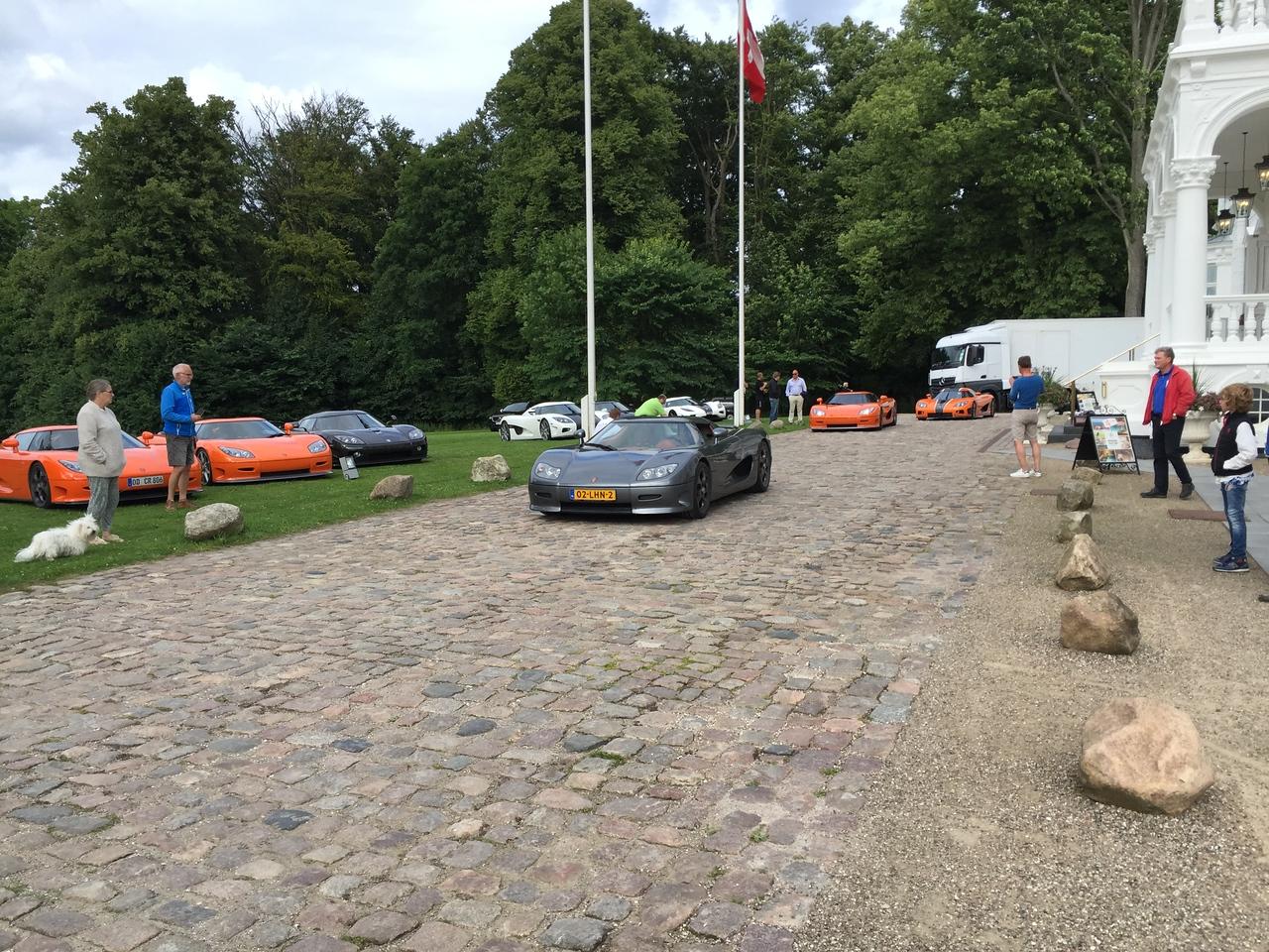 Koenigsegg, Kokkedal Slot, Hørsholm