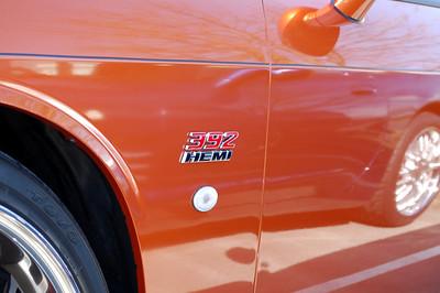 392 Hemi badge