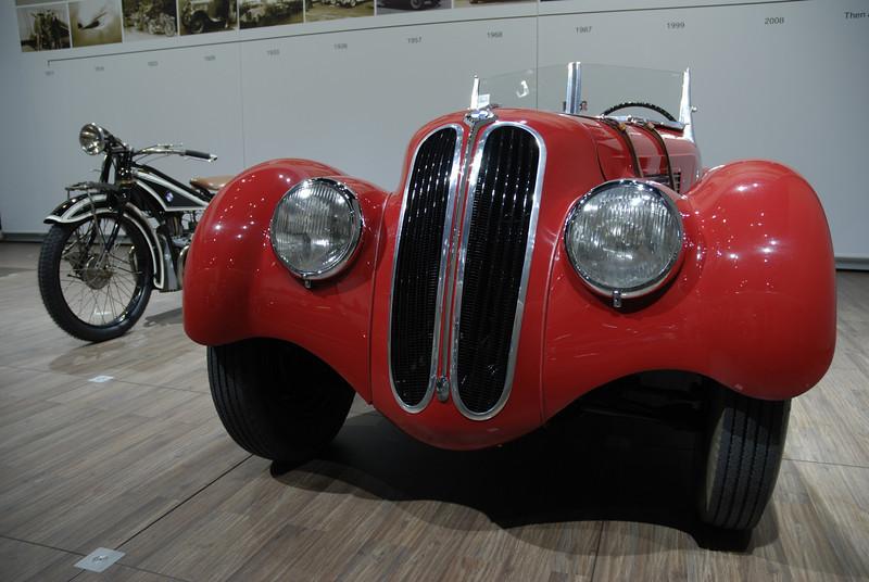 BMW 328 – a stylish oldtimer from Munich.