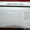 1968 HONDA S800<br /> Years Produced 1966 - 70<br /> No. prod. 11,536