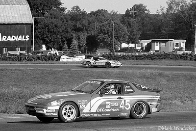 6TH RICK HURST RACING 6SS PORSCHE 944 TURBO MIKE PUSKAR/ MCDONALD/ JEFF MILSTEIN/ FRANZOIRO