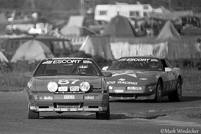 9TH TEAM MITSUBISHI 1A MITSUBISHI STARION MIKE RUTHERFORD, RAY KONG, DAVE WOLIN. DAVE VEGHER
