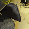 Left rear mudflap.  Compare this one with the other side which is missing.