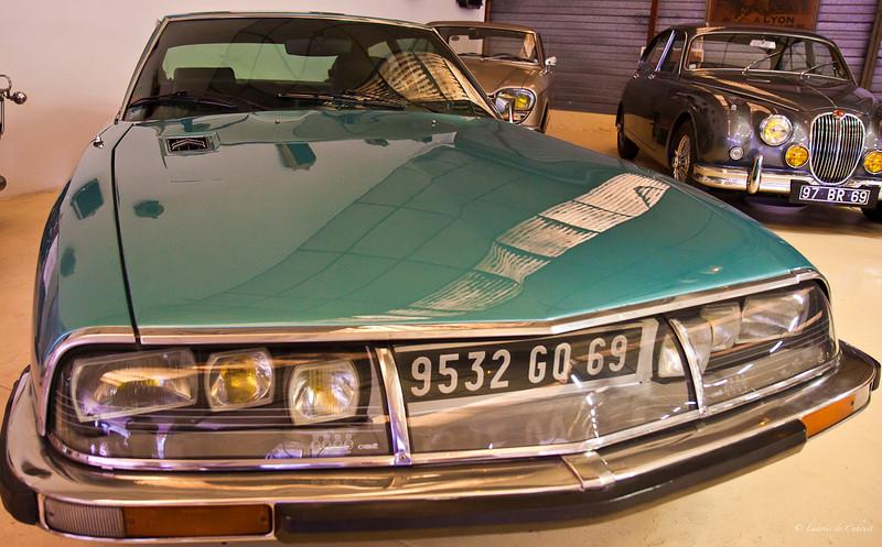Musée automobile Malatre - Lyon - Rhône - France