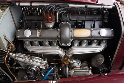 Alfa 8C motor with blower