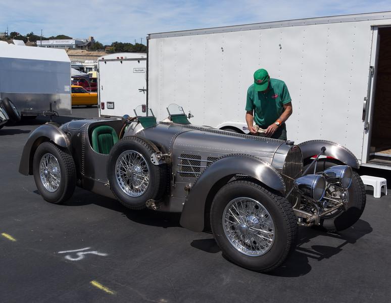 new body on Bugatti 57