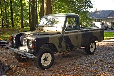 Land Rover Series III pick up