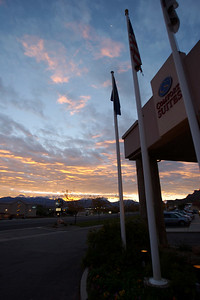 Comfort Suites was homebase for our Moab experience