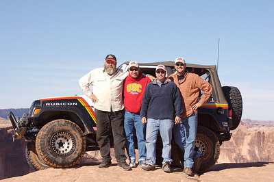 (L to R) Dan Mick, Jim Newmann, Dan Willibey, and Bob Bingham
