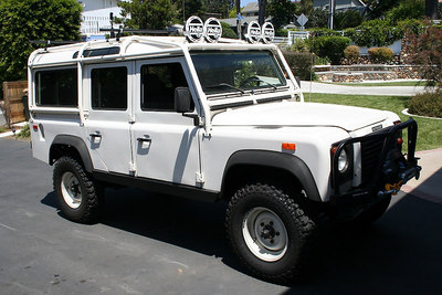 1993 Defender 110, she was mine but wanted more room to run around.