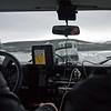 Når man skal kjøre på isbre, navigerer man med båt gps....