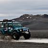 I full fart på vei mot Vattnajökull :-)