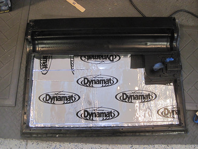 Dynamat side doors.