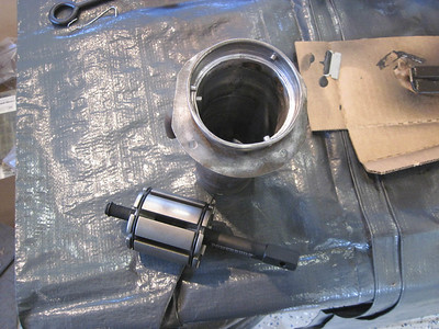 Rounding rear fuel filler