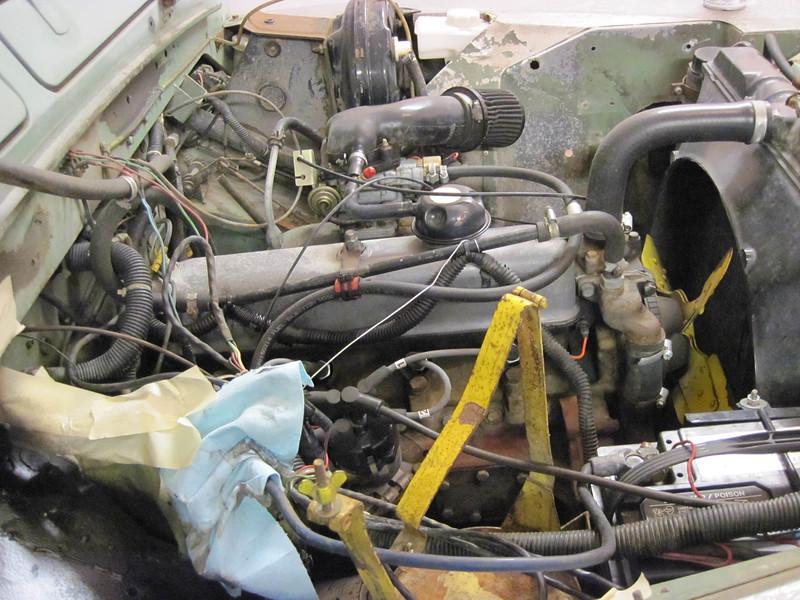 Masking bits of engine