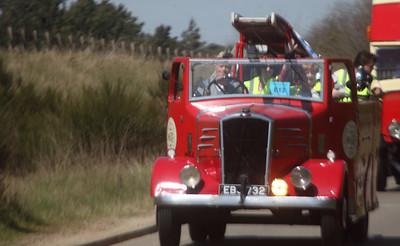 Larger Vehicles - Classic Car Rally - Christchurch Park - Ipswich