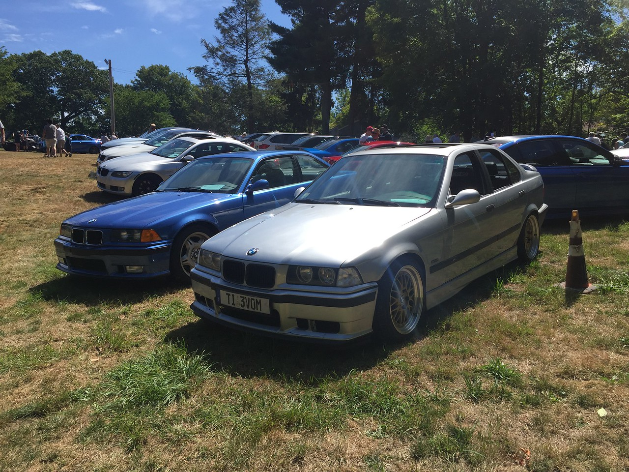 E36 M3s (can you please finish your front spoiler?)