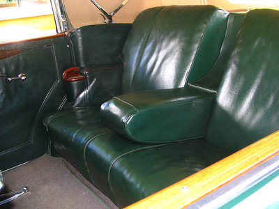 Packard backseat (couch)
