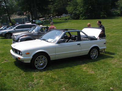 BMW 323 Baur convertible
