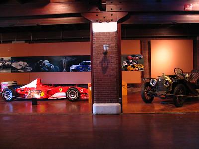 Ferrari F2002 F1 and Kissell Kar.