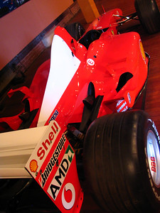Ferrari F2002 F1 car
