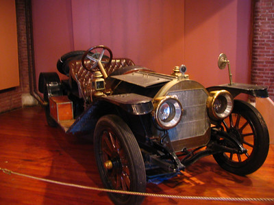 Kissel Kar (1911). Consider this the Lamborghini of its day. Built by the same manufacturer as Kissel tractors. This is a 4-cylinder, 32hp version. Surprisingly, it's claimed that the current owner of this car uses it daily during the summer and it even competed at the Stanley Land Speed Centennial races in Daytona in 2006  (http://www.stanleymotorcarriage.com/ToursShows/OrmondBeach/Ormond2006.htm).