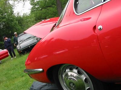 Alfa Romeo Giulia SS (1965). Body by Bertone.