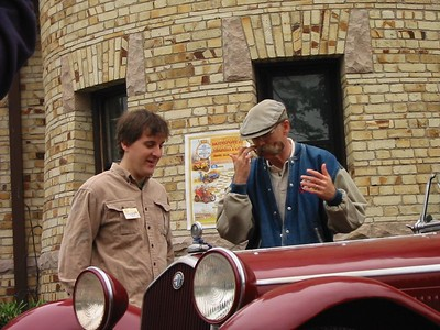 """Dennis Gage of """"My Classic Car"""" on the Speed Channel"""