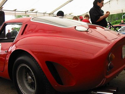 Ferrari 250GTO. A 1962 model, this is a completely unrestored, Championship-winning car. It is also a car that has been in the hands of the same owner since 1965 - the second-longest ownership GTO in existence.