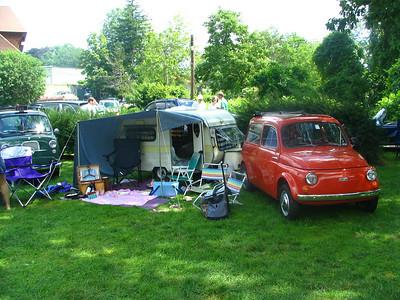 Fiat 500 caravan