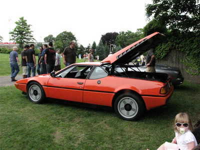 BMW M1. OK, it's from an Italian designer and may have been built in Italy...