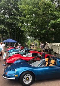 Ferrari 246GT line-up