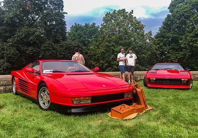 Ferrari Testarossa and 308 GTS