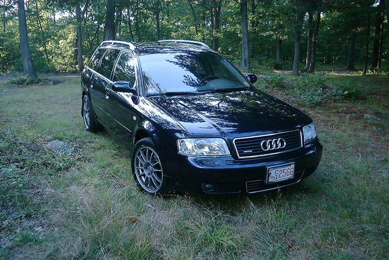 2002 Audi A6 quattro avant, OZ wheels. Needham town forest, one of my favorite locations for automotive photography...when the lighting is right.