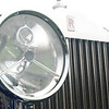 Rolls Royce headlamp and grill at Newport Concours 2010. (Wish I hadn't cut off the flying lady!
