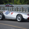1939 W154 Mercedes on pit lane at Lime Rock 2009. The car had not been on a track since 1939 when it placed second at the Jugoslav Grand Prix. The car ran several laps at Lime Rock and was impressively loud and fast.