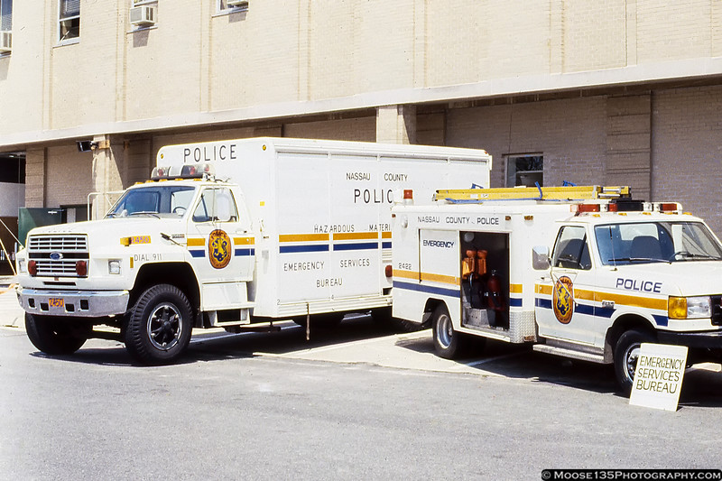 Nassau County Police Emergency Services Vehicles - April 1989 Open House