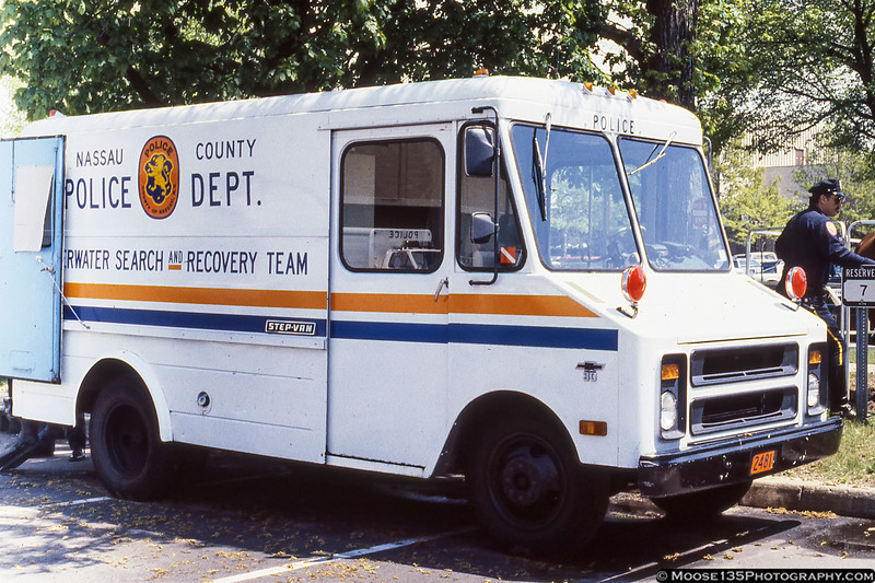 Nassau County Police Underwater Search and Recovery Team Chevy Step-Van - April 1989 Open House