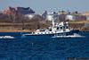 NYPD Harbor Unit in Jamaica Bay near Howard Beach
