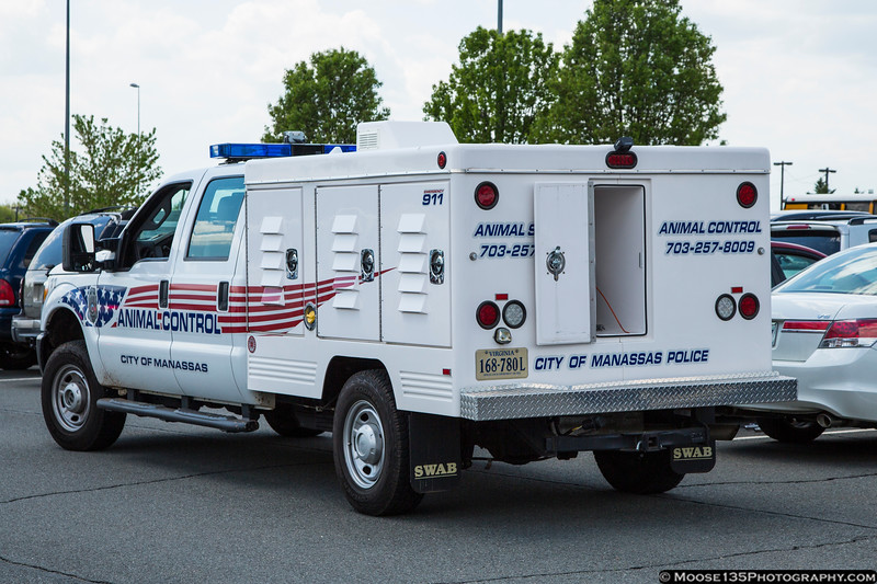 Manassas Police Animal Control - some moron left their dog in the car during the air show, and the officer was getting him out.