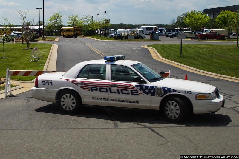 Manassas, VA Police at the Manassas Airport Air Show