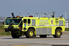 Port Authority Police Fire/Rescue truck at LaGuardia Airport.