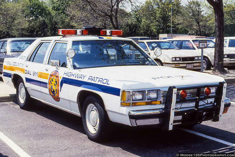 Nassau County Police Highway Patrol Ford - April 1989 Open House