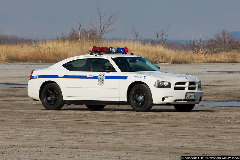 US Park Service Police Dodge Charger at Floyd Bennett Field.
