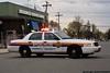 Nassau County Fifth Precinct car on the scene of a restaurant burglary on Easter Sunday 2011.