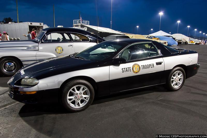 2001 Chevrolet Camaro North Carolina Highway Patrol Car