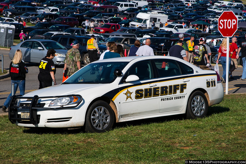 Patrick County, VA Sheriff at the Martinsville Speedway