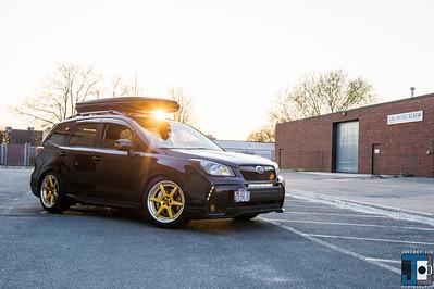 WORK Zeast ST1 IPG - Ravspec Subaru Forester XT  2014